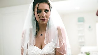 In a little while to be bride Bella Rolland decides to have one last sex