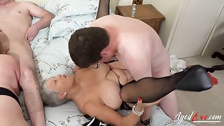 AgedLovE Two Matures Enjoying Hard Fast Think the world of
