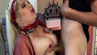 pierced bbw mom deep fisted off out of one's mind stepson